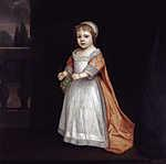Anthony van Dyck : Anne Fitzroy, Sussex hercegnője (id: 19522) vászonkép óra