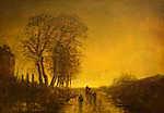 Mednyánszky László: Különleges fények (id: 20022) poszter