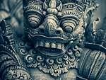 Tradicionális Balinéz szobor (id: 21222) tapéta