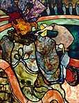 Henri de Toulouse Lautrec: Cirkuszban (id: 4022) falikép keretezve