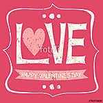 Valentin-napi Vintage kártya (id: 10223) poszter
