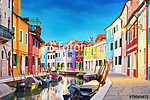 Burano Velence Olaszország (id: 11823) vászonkép