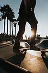 Venice beach, Gördeszkapark, Los Angeles - Indulás (id: 16923) falikép keretezve