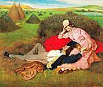 Szerelmespár (1870) (id: 20323) tapéta