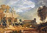 William Turner: Ingleborough, Chapel le Dale (id: 20523) vászonkép óra
