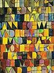 Paul Klee: Einst dem grau der Nacht enttaucht (részlet) (id: 2623) poszter