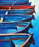 Boats (id: 4223) falikép keretezve