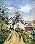 Paul Cézanne: Dr. Gachet háza (id: 423) vászonkép