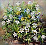 tavaszi virágok (id: 4823) vászonkép