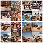 Jordánia - különböző állomások (id: 5023) tapéta
