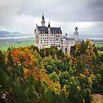 Neuschwansteini kastély kora ősszel (id: 14324) tapéta