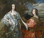 Anthony van Dyck : Katherine és Lucy, Huntingdon grófnői (id: 19524)