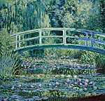 Claude Monet: A japán híd Givernyben (1899) (id: 3024) vászonkép