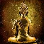 arany Buddha (id: 5524) vászonkép