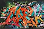 Graffiti - Wall Street Art Collection (id: 17125) falikép keretezve
