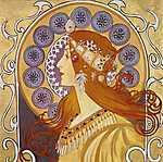 Henri de Toulouse Lautrec: Zodiac (feldolgozás) FS (id: 3625) tapéta