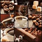 Mednyánszky László: Kávé kollázs (id: 4725) poszter