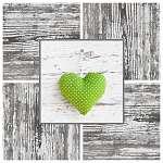 Zöld szív - remény, boldogság, szerelem (id: 5025)