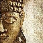 Régi Buddha (id: 5525) vászonkép