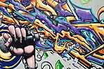 Graffiti - Wall Street Art Collection (id: 17126) vászonkép óra
