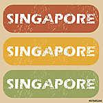 Vintage szingapúri bélyegző (id: 5926) tapéta