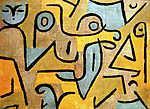 Paul Klee: Young Moe - színváltozat 1. (id: 12127) tapéta