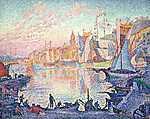 A Saint Tropez-i kikötő (1901-1902) (id: 3827) vászonkép