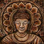 Buddha Stein Relief (id: 5527) vászonkép