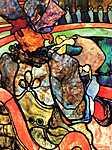 Mary Cassatt: Cirkuszban (id: 1128)