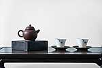 Japán teakészlet (id: 17328) vászonkép