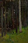 Mednyánszky László: Fák az erdőben (id: 19928) vászonkép