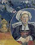 A gyönyörű Angéla (La belle Angéle) (id: 3928) falikép keretezve