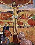 Paul Gauguin: Sárga Krisztus (id: 928) vászonkép óra