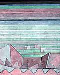 Paul Klee: Blick in das Fruchtland - színváltozat 1. (id: 12129) vászonkép