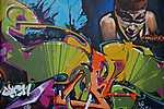 Graffiti - Wall Street Art Collection, Olasztország (id: 17129) többrészes vászonkép