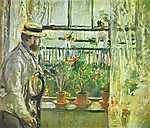 Berthe Morisot: Monet a Wight szigeten (id: 1929) poszter