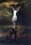 Anthony van Dyck : Jézus a keresztfán (színverzió 1.) (id: 19529) poszter