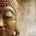 grungy Buddha maszk (id: 5529) vászonkép óra