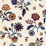 Partner Kollekció: Folklór virágminta 3. (id: 18230) poszter