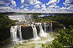 Iguassu vízesés a legnagyobb vízesések a bolygón, (id: 9130) tapéta