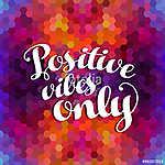 Pozitív inspiráció idézet színes háttér (id: 9630) falikép keretezve