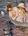 Mary Cassatt: Nyári időtöltés (id: 12031) poszter
