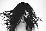 Hosszú haj (id: 17531) többrészes vászonkép