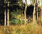 Berthe Morisot: Vendégház Normandiában (id: 1931) falikép keretezve