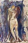 Edvard Munch: Élet és Halál (id: 3631) falikép keretezve
