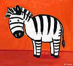 rajzfilm zebra (id: 4131)