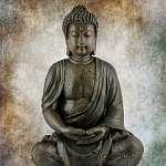 Ülő Buddha (id: 5531) vászonkép