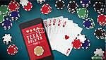Hold'em póker banner (id: 6031) poszter