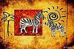 Afrika retro vintage stílusban (id: 7331)