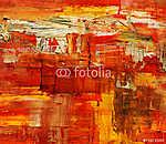Kézzel festett háttér. SAJÁT KÉSZÍTÉSŰ. (id: 8131) falikép keretezve